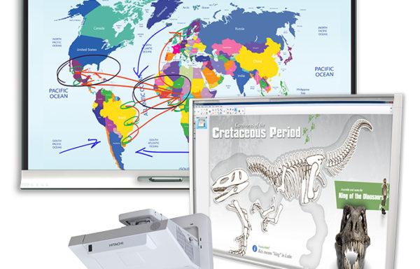 Monitory i tablice interaktywne - zestawy