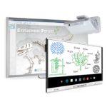 1 x monitor SMART MX165; 1 x tablica SMART SBM680 + projektor ultrakrótkoogniskowy HITACHI CP-AX2505
