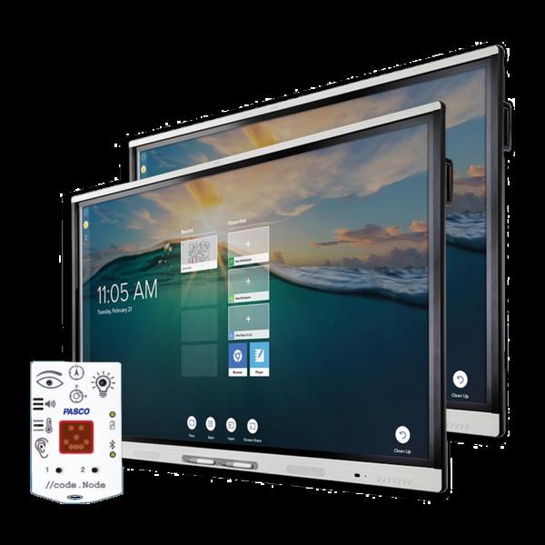 "2 x monitor interaktywny SMART 65"" 4K SMART MX265 + //code.Node PASCO GRATIS"
