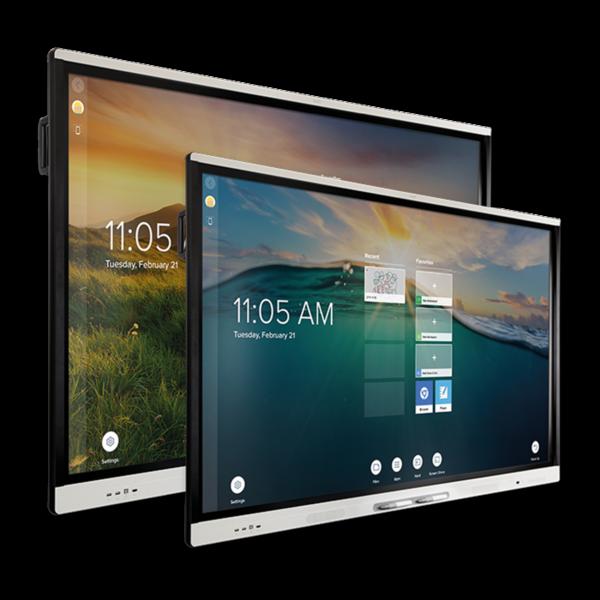 "1 x monitor interaktywny SMART 75"", 1 x monitor interaktywny SMART65"""
